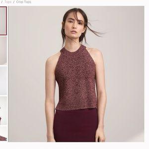 Aritzia Wilfred Crevier knit top sleeveless tank